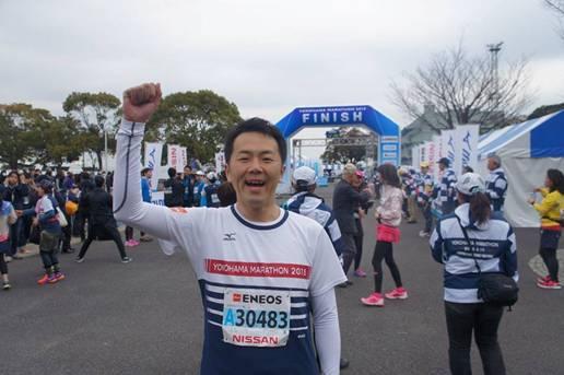 横浜マラソン2015を駆け抜けました!